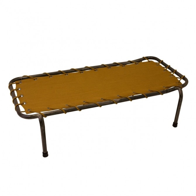 School Metal Bed gold - Numero 74