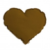 Heart cushion gold
