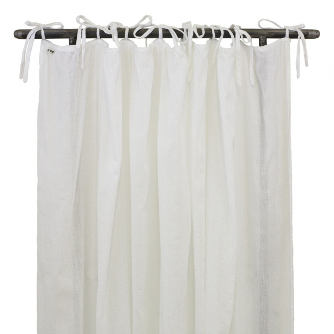 Gathered Curtain white - Numero 74