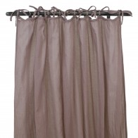 Gathered Curtain dusty pink