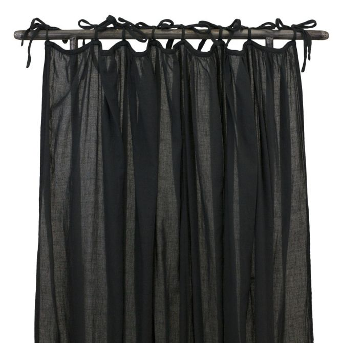 Zasłona Gathered Curtain dark grey ciemnoszara - Numero 74