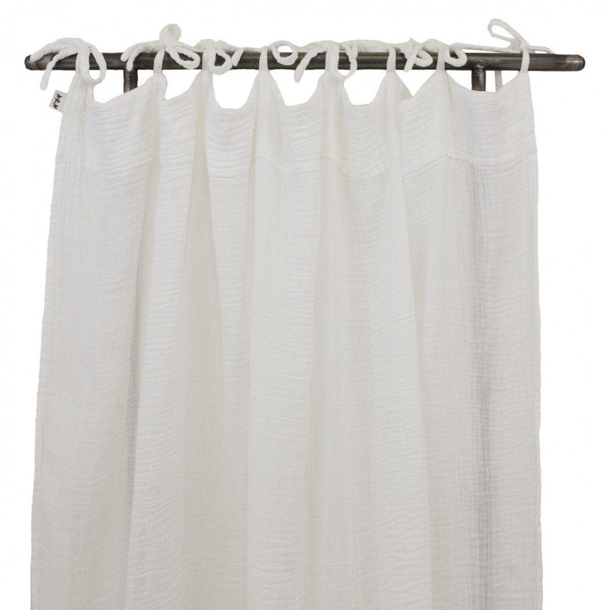 Flat Curtain white - Numero 74