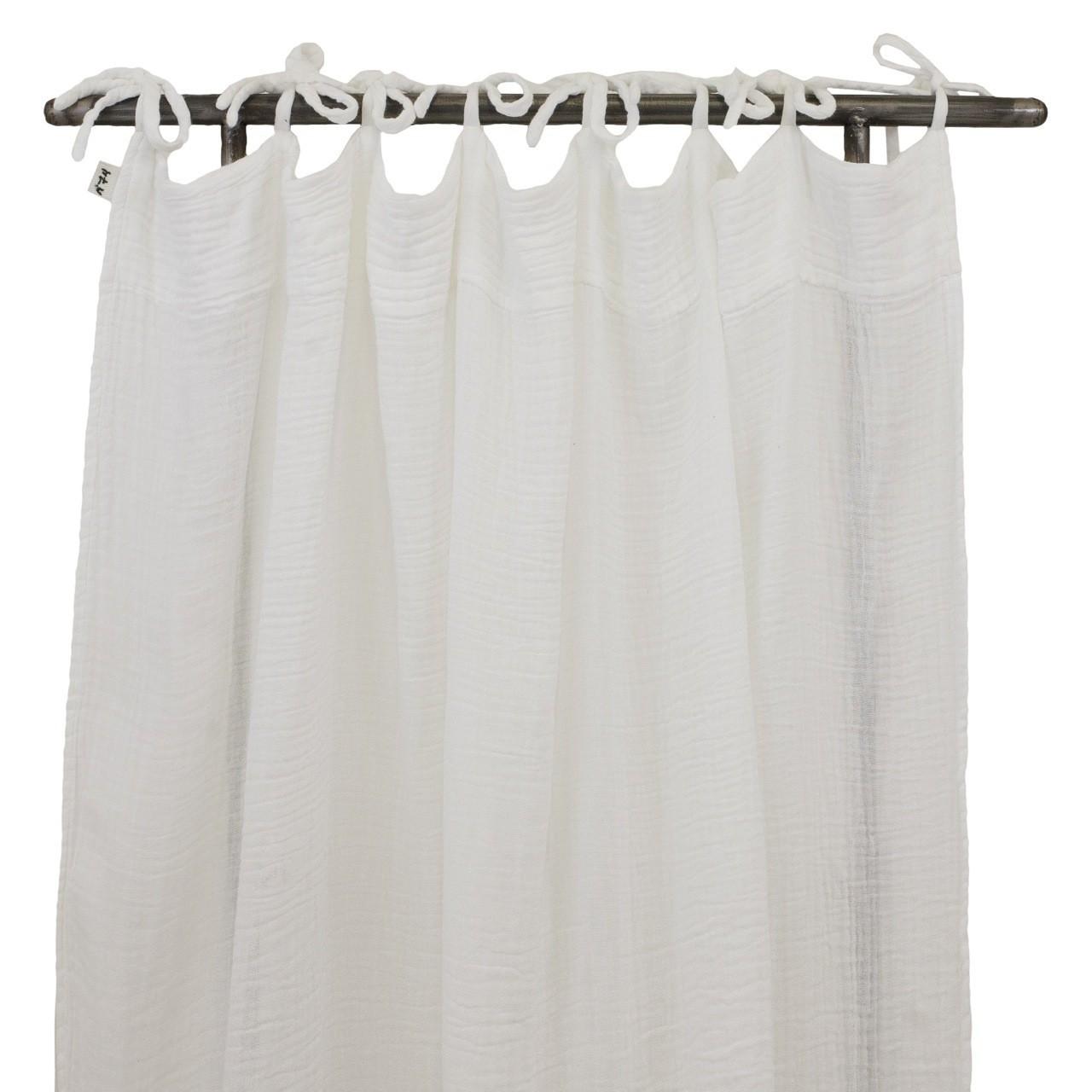 Zasłona Flat Curtain biała