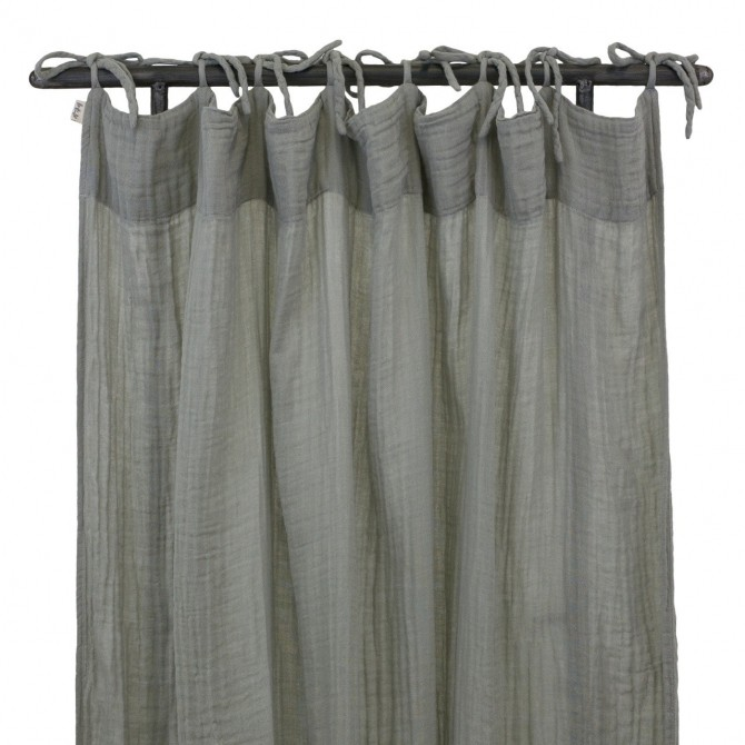 Flat Curtain silver grey - Numero 74