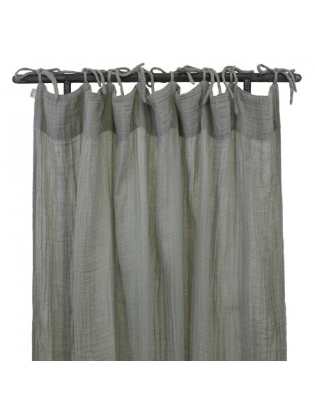 Numero 74 Flat Curtain silver grey
