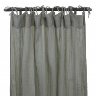 Flat Curtain silver grey