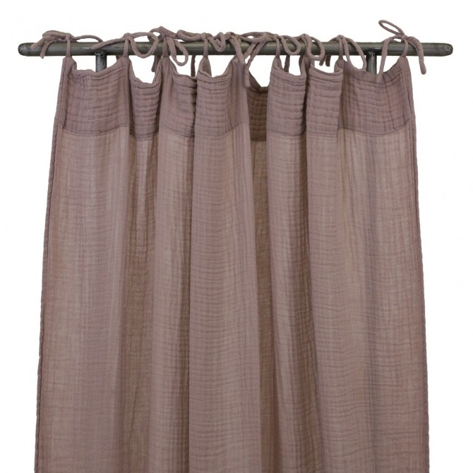 Flat Curtain dusty pink - Numero 74