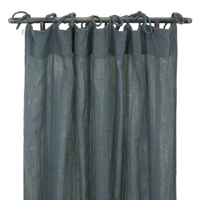 Zasłona Flat Curtain szaroniebieska - Numero 74