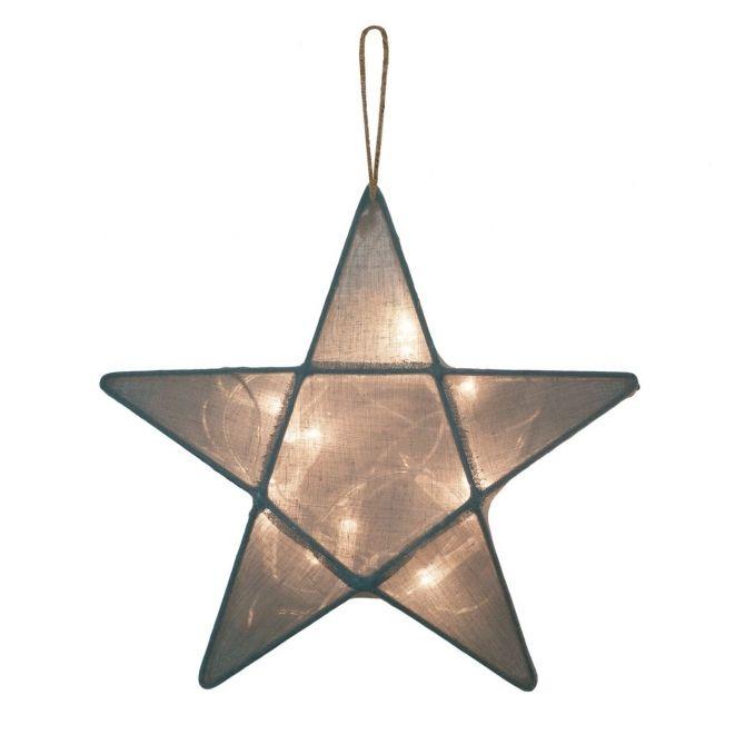 Numero 74 Lampa Gwiazda szaroniebieska