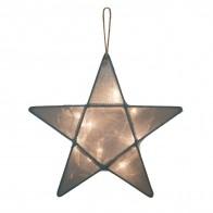 Lampa Gwiazda szaroniebieska
