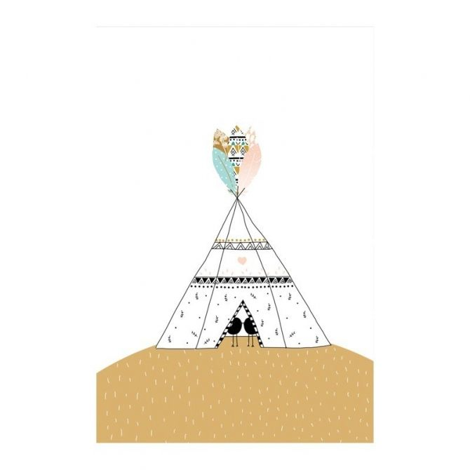 My Lovely Thing Poster Tipi