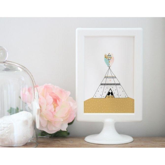 Kartka Postcard Tipi - My Lovely Thing