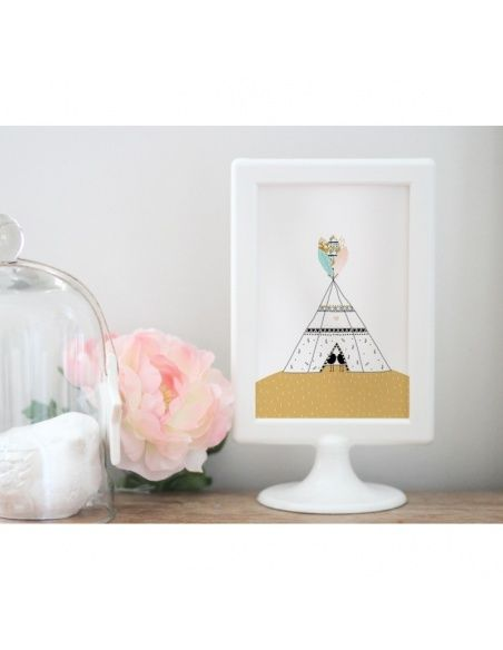 Postcard Tipi - My Lovely Thing