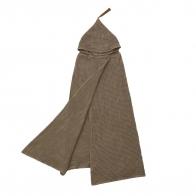 Szlafrok Poncho Towel beige beżowy