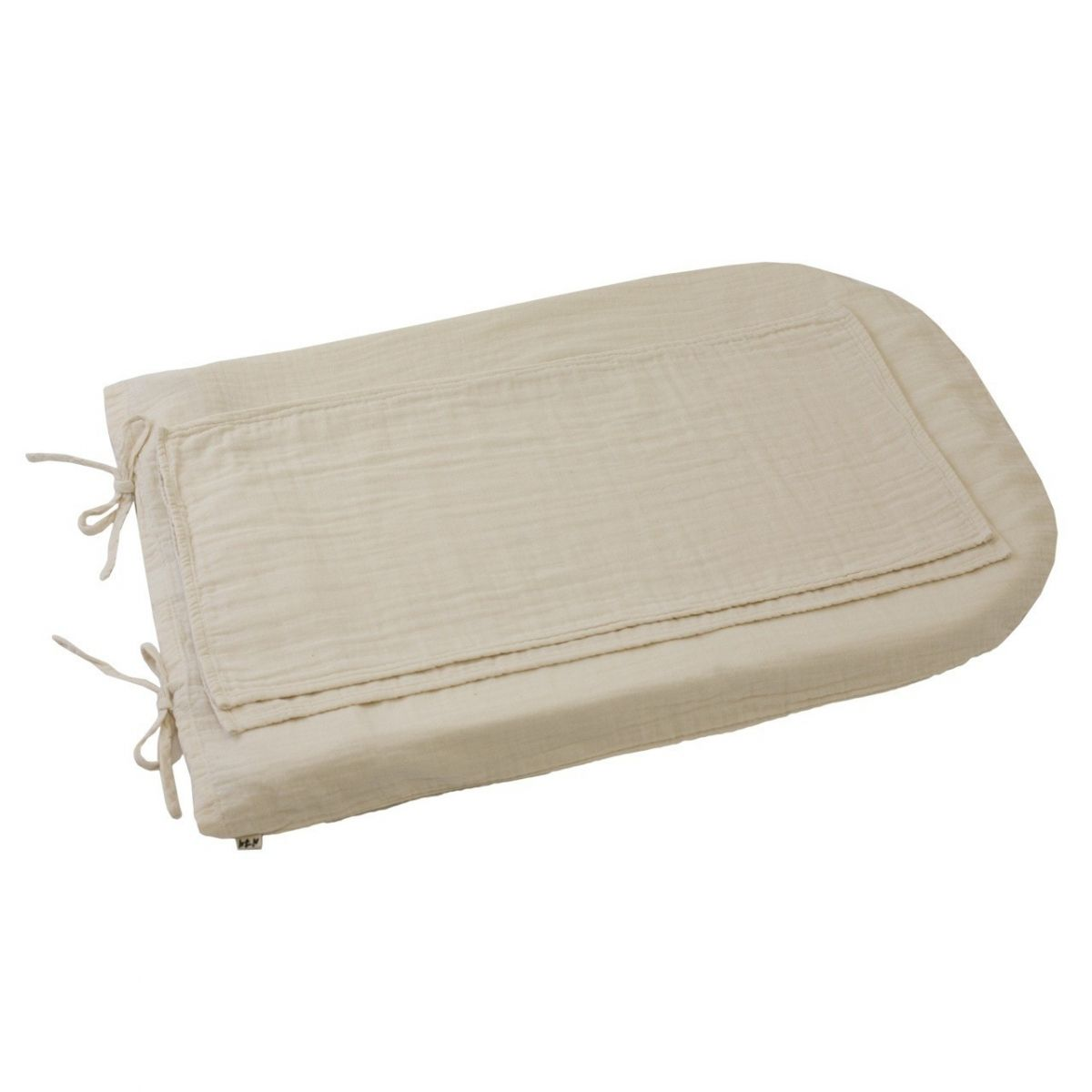 Changing Pad cover round natural - Numero 74