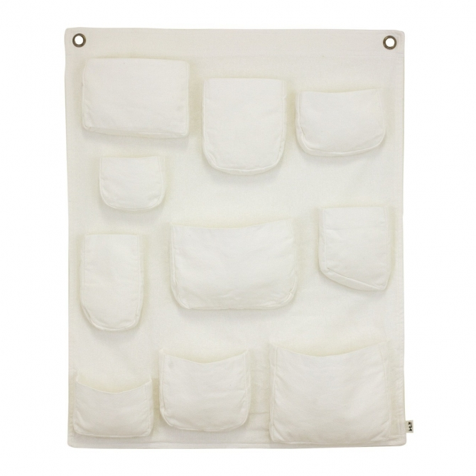 Wall Pocket white - Numero 74