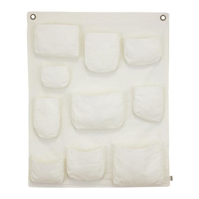 Numero 74 Wall Pocket white