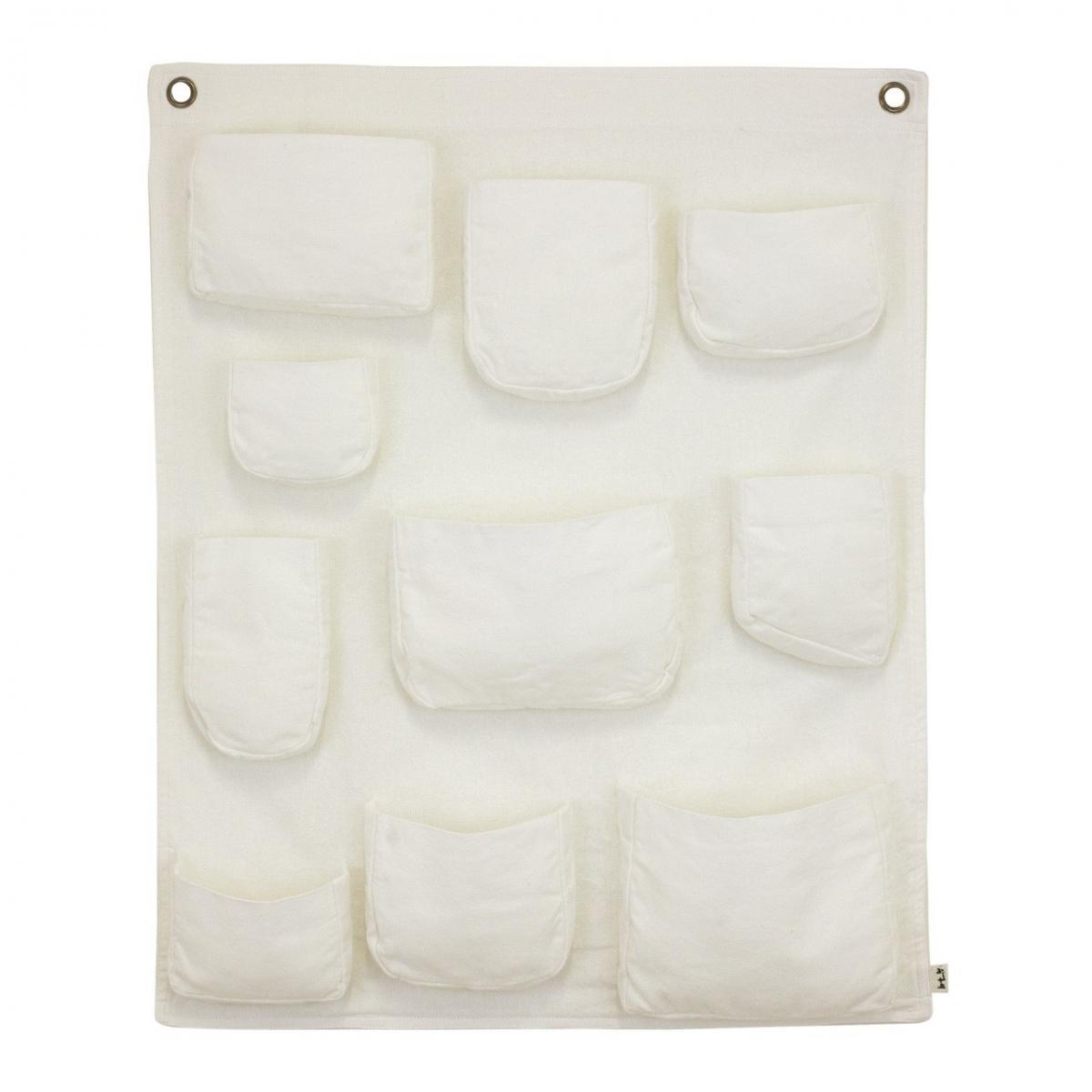 Wall Pocket white - Numero 74