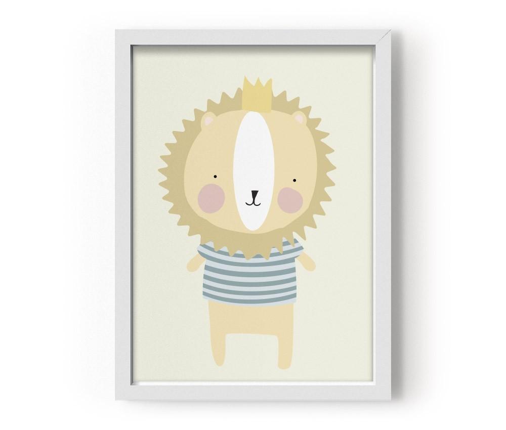 Plakat Poster Mr Lion pan lew