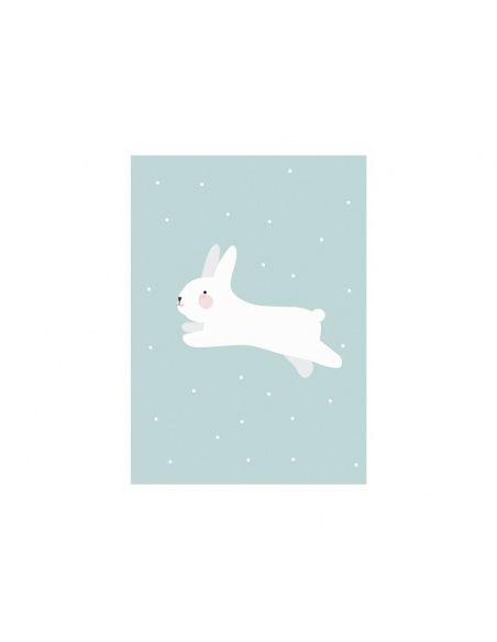 Plakat White Rabbit - Eef Lillemor