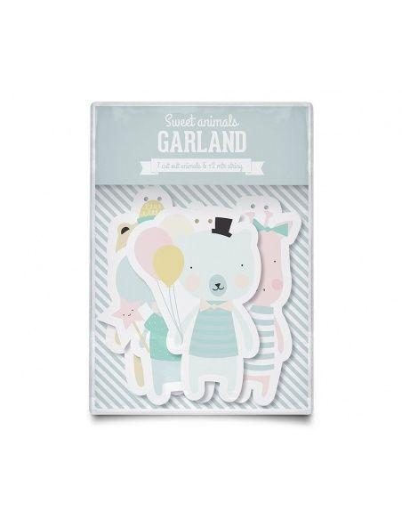 Girlanda Animals - Eef Lillemor