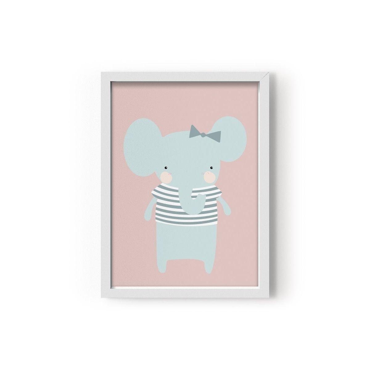 Plakat Miss Elephant - Eef Lillemor