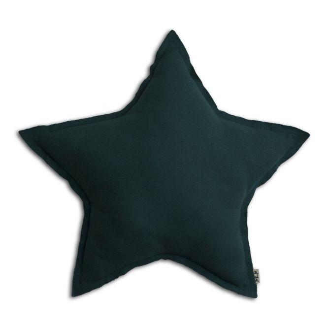 Numero 74 Poduszka gwiazda ciemny morski