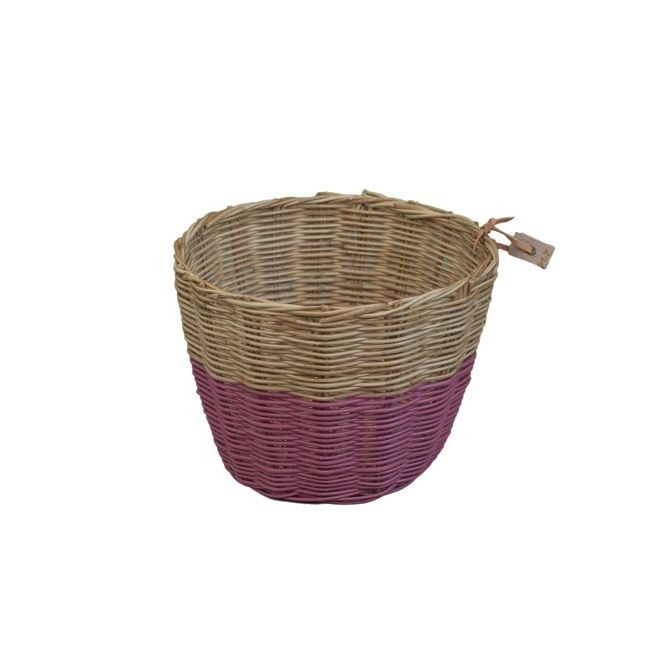 Koszyk Basket rattan rattanowy baobab rose malinowy - Numero 74