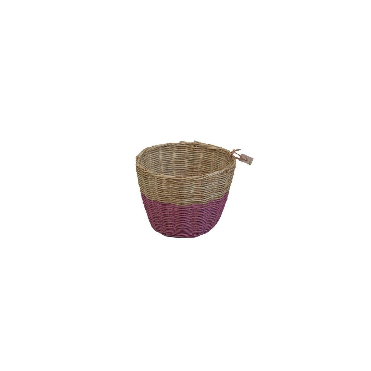Koszyk rattanowy malinowy - Numero 74