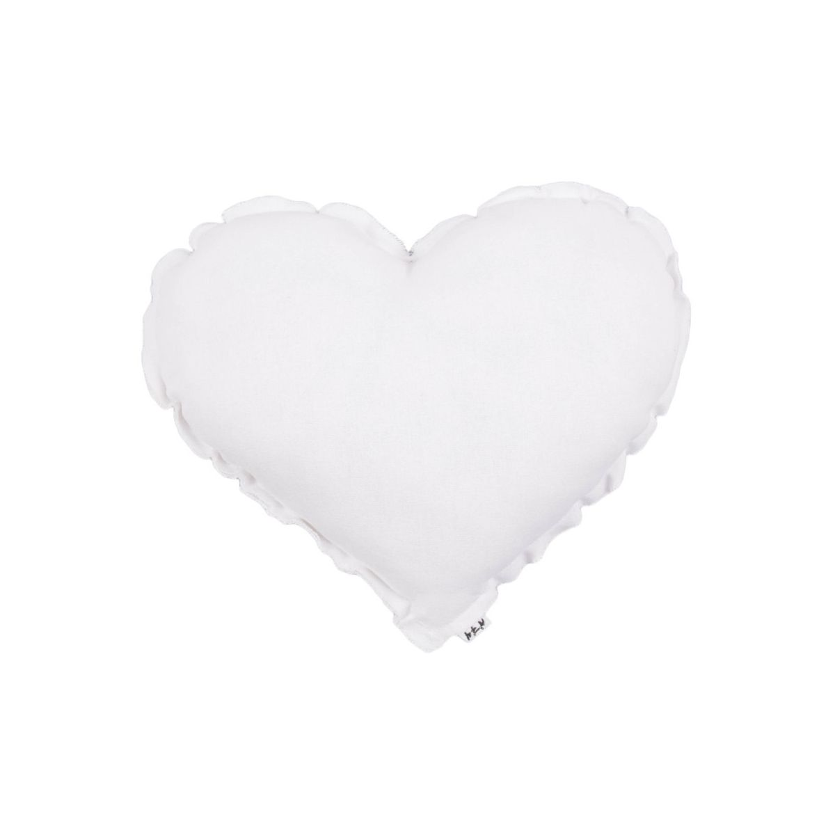 Heart Cushion white - Numero 74