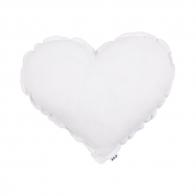 Poduszka Serce biała