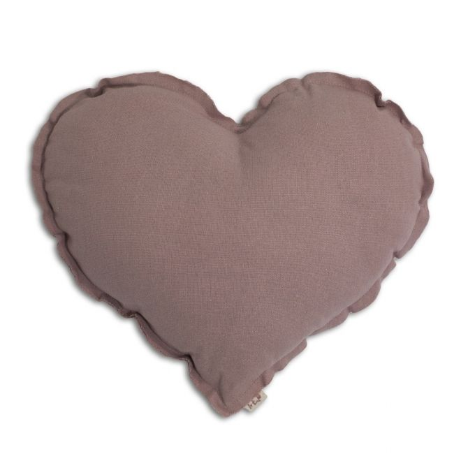 Numero 74 Heart Cushion dusty pink