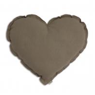 Poduszka Serce beżowa