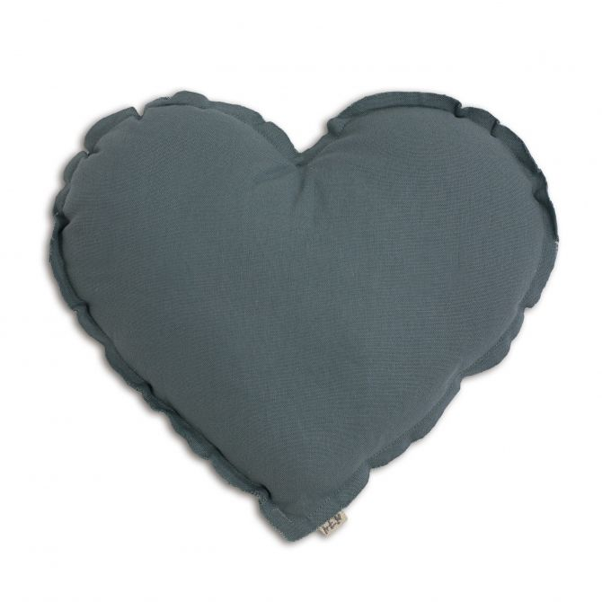 Numero 74 Heart Cushion ice blue