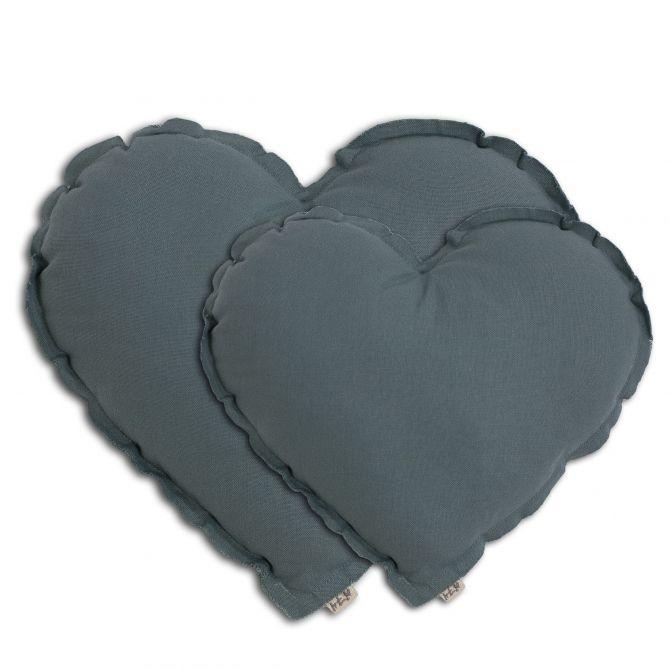 Heart Cushion ice blue - Numero 74