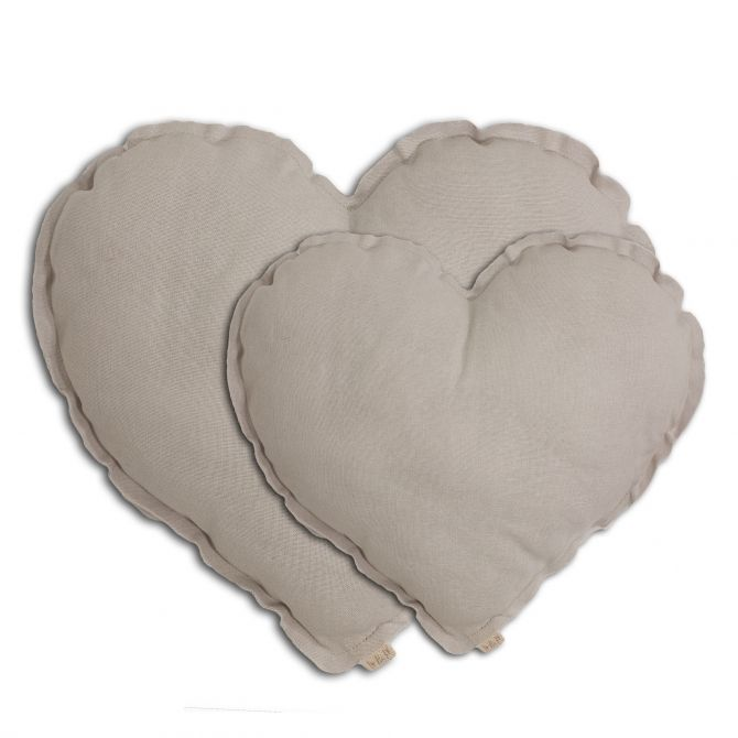 Poduszka Serce Heart Cushion powder pudrowa - Numero 74