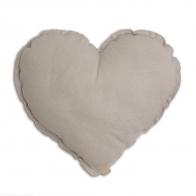 Poduszka Serce pudrowa