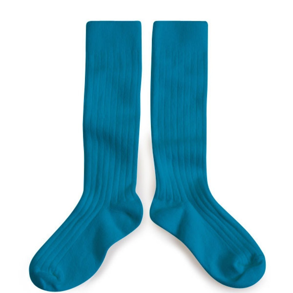 Podkolanówki Kneesocks Joli Paon turquoise turkusowe