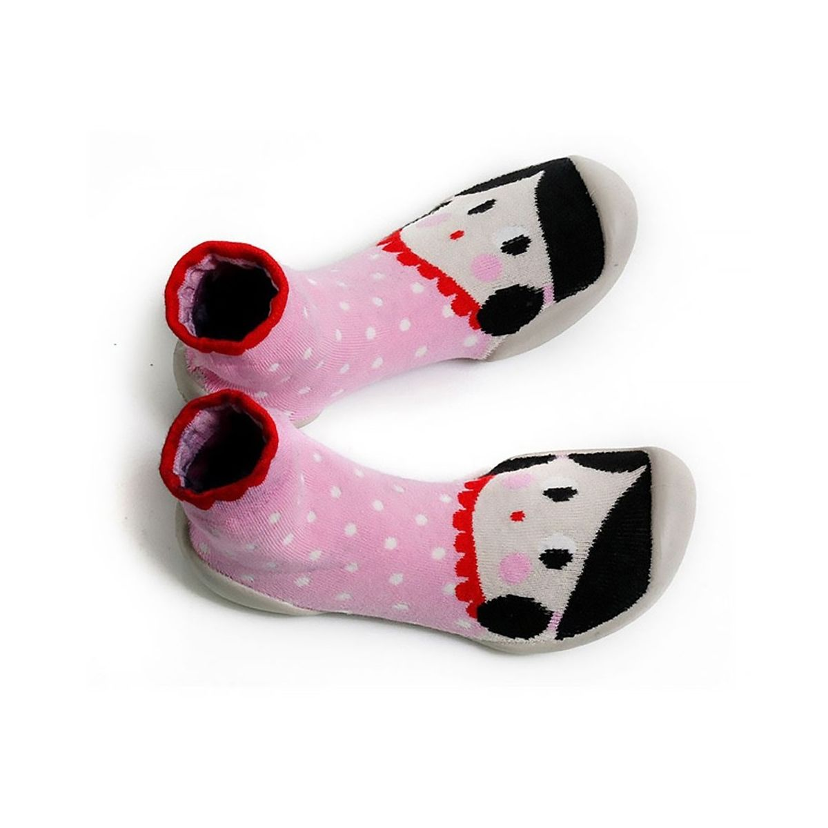 Slipper Socks Chaussons Fete BEST pink - Collégien