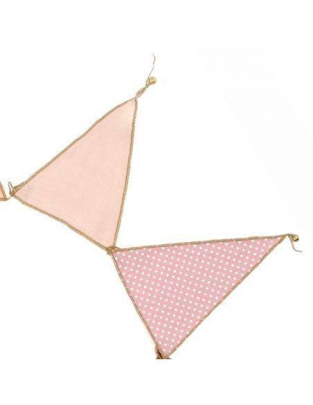 Girlanda Garland Bunting mix pink różowa - Numero 74