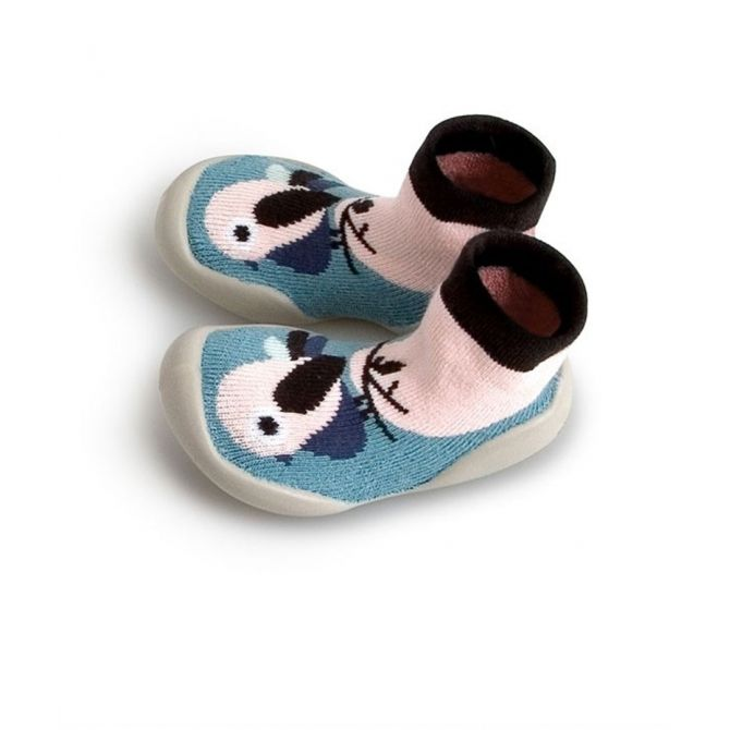 Collégien Slipper Socks Birdie blue