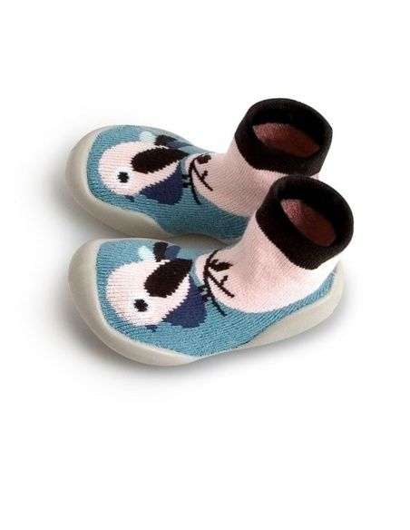 Slipper Socks Birdie blue - Collégien