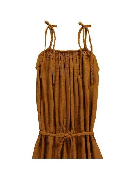 Sukienka dla mamy Mia długa musztardowa - Numero 74