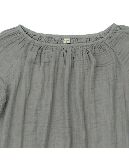 Numero 74 - Tunic for mum Nina silver grey - 2