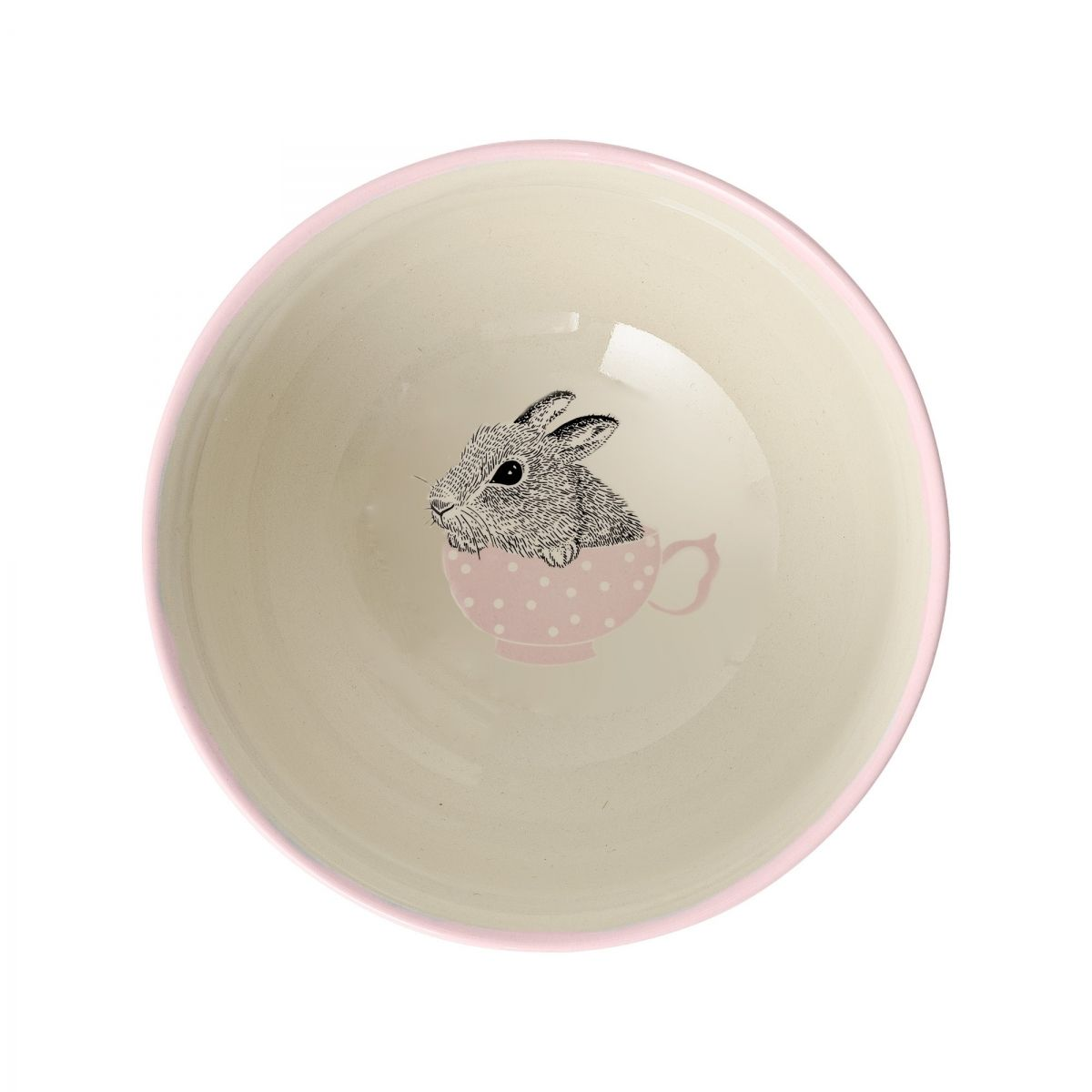 Bloomingville Bowl Nanna off white/mauve