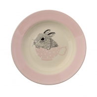 Soup Plate Nanna off white/nude