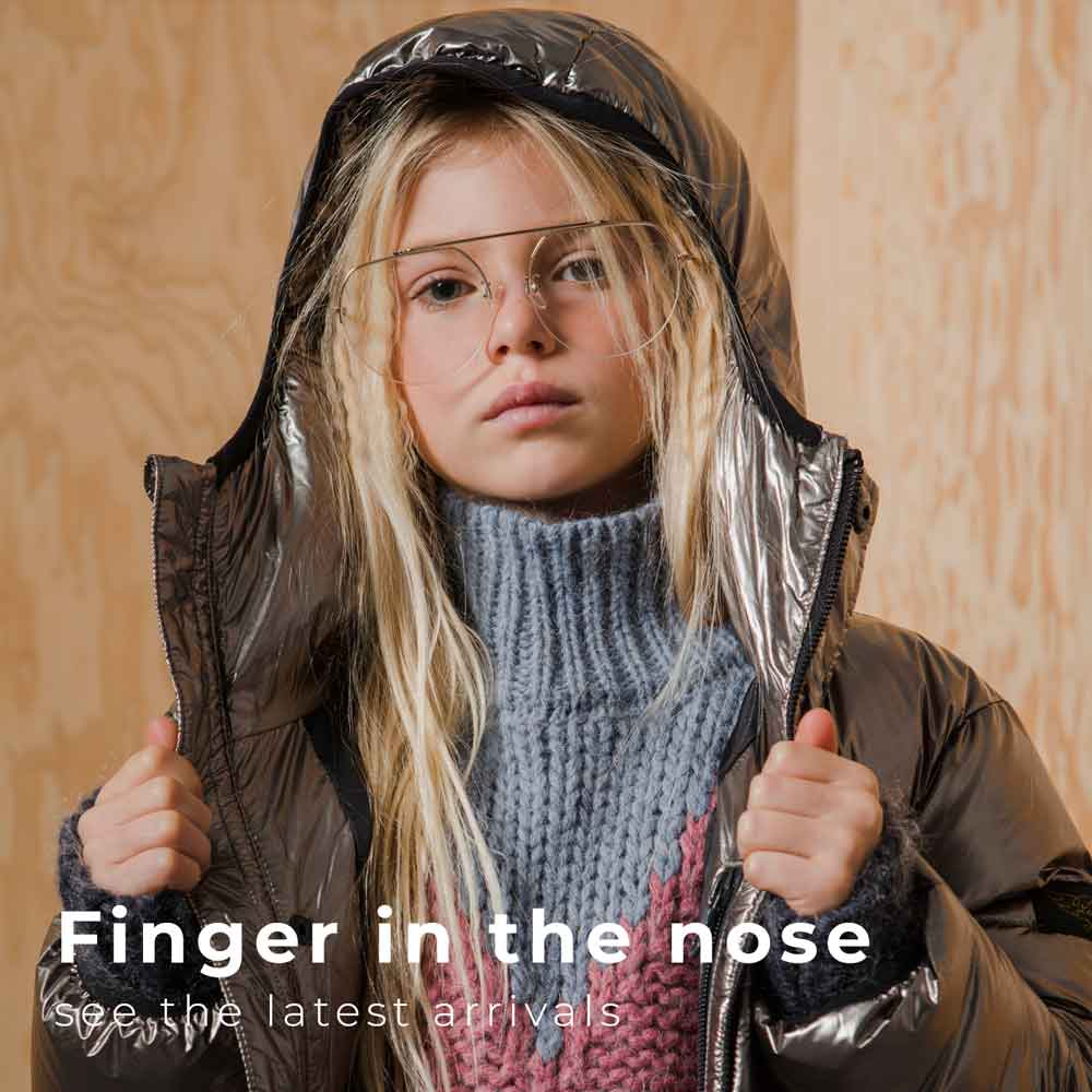 Finger in the nose